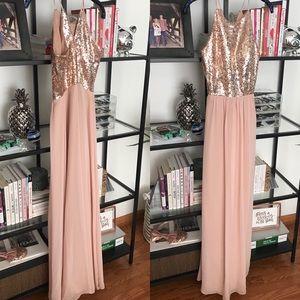 B2 Jasmine Dresses - B2 Jasmine Rose Gold Dress